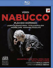 Verdi Nabucco Blu-ray  Placido Domingo