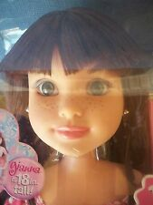 "BFC BEST FRIEND CLUB DOLL, GIANNA 18"" NRFB LOOK!!"