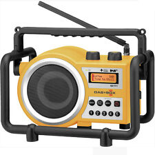 Sangean DAB+ Tough Digital Tradie Radio - Blue - Model DABBOX - Brand New In Box