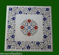 Marble Table Top Stone Inlay Pietra dura​ Craft Home Decor Handmade and Gifts