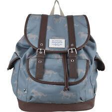Sloane Ranger Grey Horse Slouch Backpack - For All Your Bits & Bobs! (SALE!)