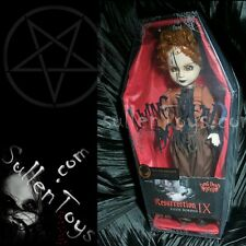Living Dead Dolls Lizzie Borden Variant Resurrection Sepia Res Series 9 New LDD