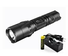 Nitecore P20 Tactical Law Enforcement LED Flashlight /w 18650 Charger [P16 P12]