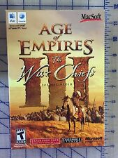 AGE OF EMPIRES THE WARCHIEFS EXP PACK MAC DVD MACSOFT * BRAND NEW RETAIL BOX *
