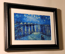 VAN GOGH Starry Night over the Rhone print canvas framed giclee