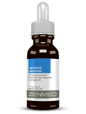 ZENMED Glycolic Booster, At Home Peel Lactic Hyaluronic Alpha Hydroxy Acid 1oz