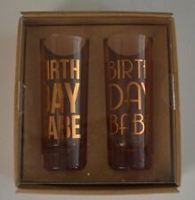 Francesca's Birthday Babe Shot Glasses