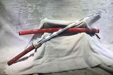 HandmadeT10 Differentially Hardened Hadori Polish Sekinetsu Katana Samurai Sword