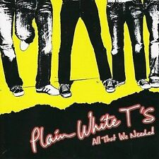Plain White Ts: All That We Needed - CD NEW