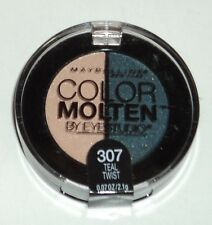 Maybelline Eye Studio Color Molten Eyeshadow Duo TEAL TWIST 307 Sealed
