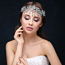 Bridal Hairbands Crystal Headbands women Hair Jewelry Siver Tiaras And Crowns