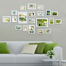 Multi Picture Photo Frame Frames 20 Pieces White Wall Frames Set Collage