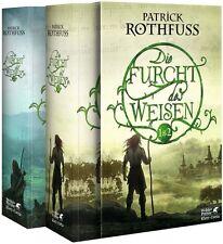 Die Furcht des Weisen 1 & 2 von Patrick Rothfuss (2014, Taschenbuch)