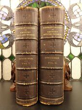 1872 Portrait Gallery of Eminent Men Women Lincoln 119 Portraits Illustrated 2v