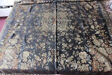 "Antique c1910 Chinoiserie & Bird Piano, Bed Or Sofa Cover~1yd12""LX49""W"