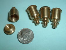 (4) Model Hit and Miss Gas or steam engine Brass oil Cups 10-32 mounting thread