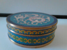 BOITE EMAUX CLOISONNE ANCIEN CHINE BRONZE CHINESE ANTIC BOX ENAMEL dragon 龙  中国