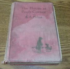 "Vintage 1929 ""The House at Pooh Corner"" written by A.A. Milne Hardcover book"