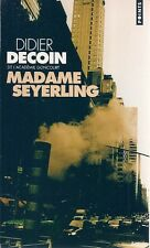 LIVRE POINTS--MADAME SEYERLING--DIDIER DECOIN