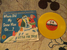 Little Golden Record: Little Fir Tree AND Where Did My Snow Man Go?