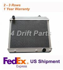 3 CORES/ROWS ALUMINUM RADIATOR FOR 1963 64-66 Chevy C20 Panel Pickup V8 284