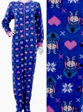 Disney's Eeyore Footed Pajamas Footie 1 Piece XL L or S NEW LAST ONES
