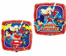 DC Super Hero Girls Foil Balloons Birthday Party Decoration Supplies SuperGirl