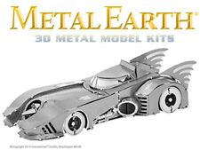 Fascinations Metal Earth Batman 1989 Batmobile Bat Mobile 3D Model Kit