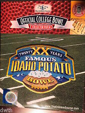 College Football Famous Idaho Potatol Bowl 2016/17 Patch Idaho, Colorado State