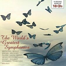 Various - The World's Greatest Symphonies (2016) 10CD Box Set  NEW  SPEEDYPOST