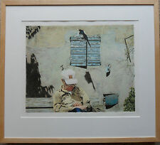 BOYD & EVANS (BORN 1944 & 1945) SIGNED LIMITED EDITION PRINT 'SUNDIAL' 1990