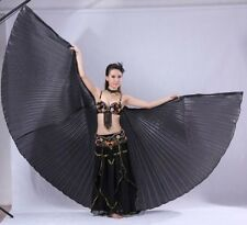 Hot Sales Professional India Egypt Belly Dancing  Costume Isis Wings 10 Colors