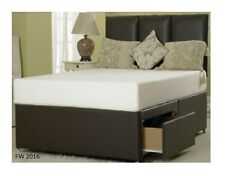 5FT KINGSIZE MEMORY FOAM DIVAN BED SET WITH MATTRESS AND H/BOARD SALE !!!!
