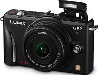 Panasonic LUMIX DMC-GF2K 12.1 MP Digital Camera - Black (Kit w/ ASPH 14-42mm...
