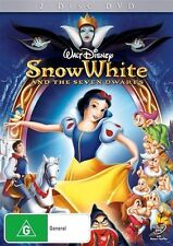 SNOW WHITE AND THE SEVEN DWARFS – 2 DVD SET, WALT DISNEY, RARE!!! played once