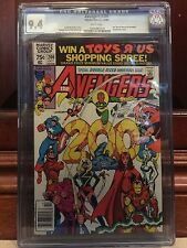AVENGERS #200 CGC 9.4 NM WP PEREZ ART (ID 6138)