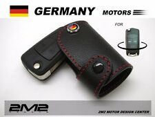 2532A Leather Key fob Holder Case Chain Cover FIT For OPEL CORSA C ASTRA VECTRA