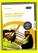 CSCS Health Safety and Environment Test DVD for Operatives and Specialists 2014