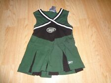 Infant/Baby Girls New York Jets 24 Mo Cheerleader Cheer Outfit Dress Reebok