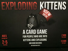 Exploding-Kittens :A Card Game About Kittens NSFW/Black Edition Explicit Content