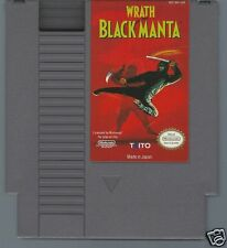 Wrath of the Black Manta  (Nintendo NES, 1990) Video Game Cartridge