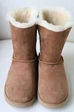 UGG AUSTRALIA SHORT  CHESTNUT BOOTS UK 5.5 EURO 38 US 7