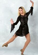 My Immortal Dance Costume Burnout Velvet Dress Ice Skate Clearance Child Small