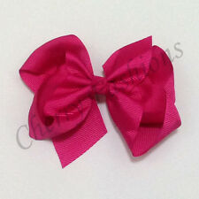 """5"""" Large Bow Hair Alligator inch knot Clips Girls Ribbon Bows Kids Accessories"""