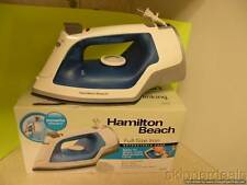 HAMILTON BEACH FULL-SZ IRON VERTICAL STEAM SPRAY BLAST RETRACTABLE CORD NEW BOX