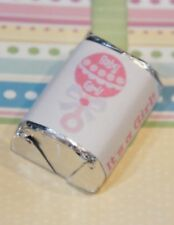60 Baby Shower Its A Girl Pink Rattle Hershey Candy Nugget Wrappers Stickers