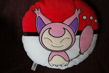"""Pokemon SKITTY 14"""" Pokeball Pillow Plush 2005 Omega Toy Pokemon Center"""