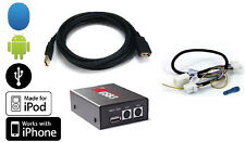 USB interface. Play MP3 on radio from Android,iPhone,thumb drive. For 04+ Nissan