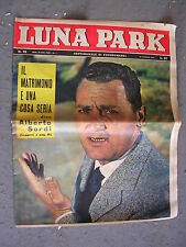 LUNA PARK # 28 - 13 LUGLIO 1961 - ALBERTO SORDI - FOTOROMANZO