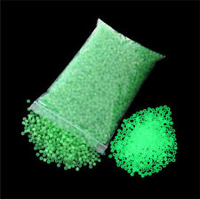 Free shipping 300Pcs 4mm Green Glow in the Dark Beads Round Beads Fishing Tackle
